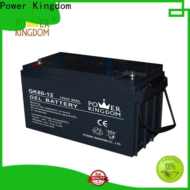 Power Kingdom High-quality 12v 20ah sealed lead acid battery with good price wind power system