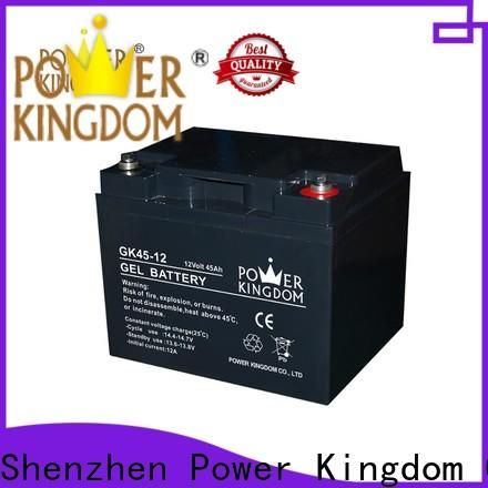 Power Kingdom long standby life sealed lead acid batteries for sale factory wind power system