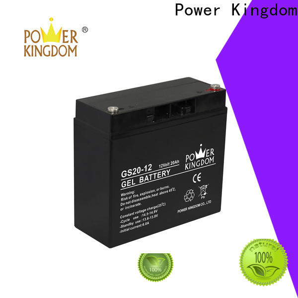 Power Kingdom lead acid battery container factory wind power system