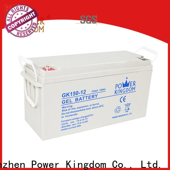 Power Kingdom lead battery manufacturers Suppliers solor system