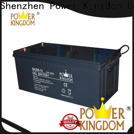 Power Kingdom Custom h2so4 battery inquire now solor system