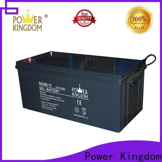 long standby life the lead acid battery design solor system