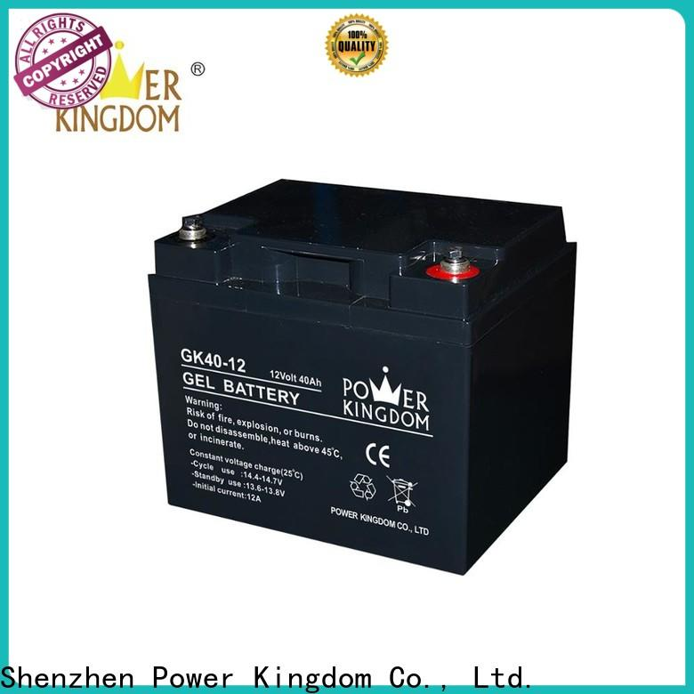 Power Kingdom higher specific energy small sla battery Suppliers wind power system