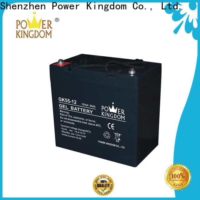 Power Kingdom long standby life sealed lead acid battery 12v 15ah for business wind power system