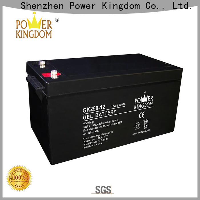 Power Kingdom Best lead acid battery connectors for business wind power system