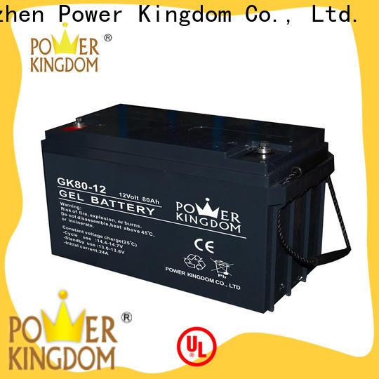 Power Kingdom High-quality pb acid battery company wind power system