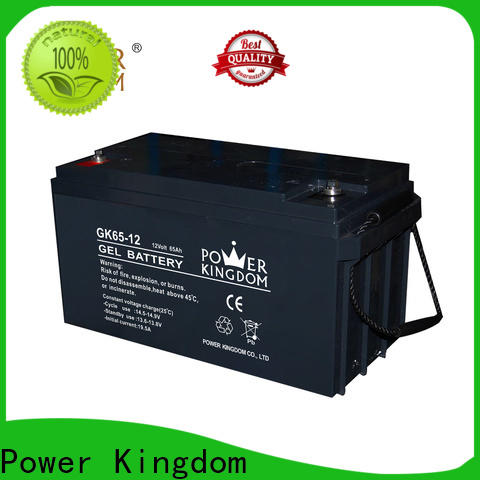 Power Kingdom 12v sla battery sizes company medical equipment