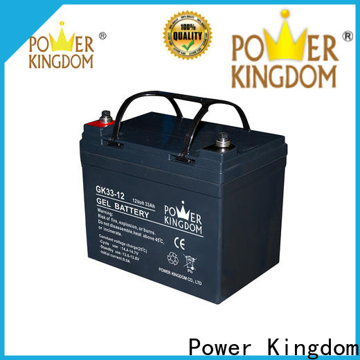 Power Kingdom High-quality 12 sealed lead acid battery Suppliers wind power system