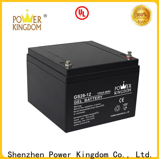 Power Kingdom flooded lead acid batteries manufacturers medical equipment