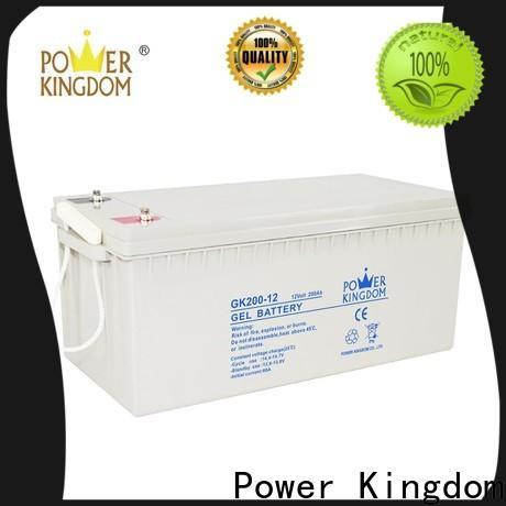 Power Kingdom Top lead peroxide battery company wind power system