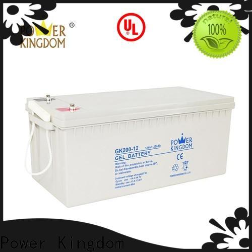Power Kingdom 7ah lead acid battery factory solor system