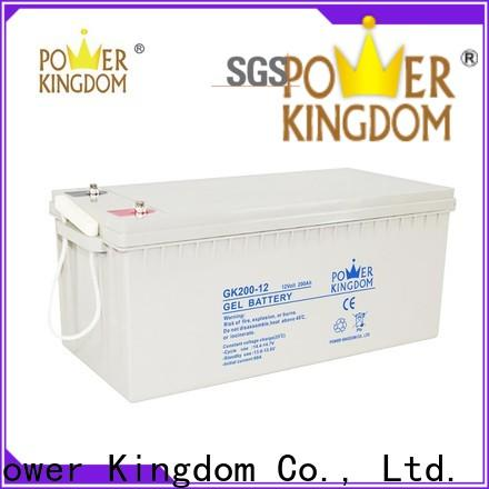 Power Kingdom Latest lead sulfate battery inquire now solor system
