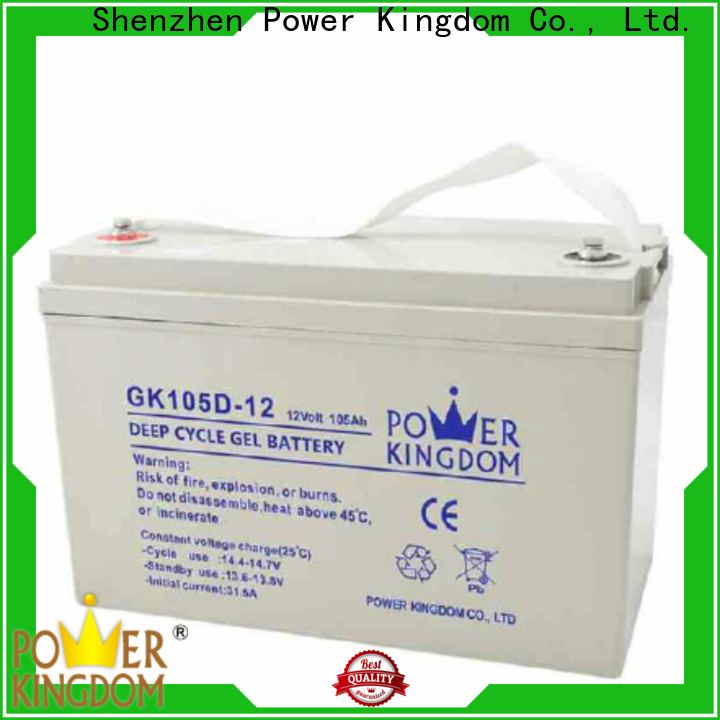Power Kingdom Wholesale battery voltage 12v with good price wind power system