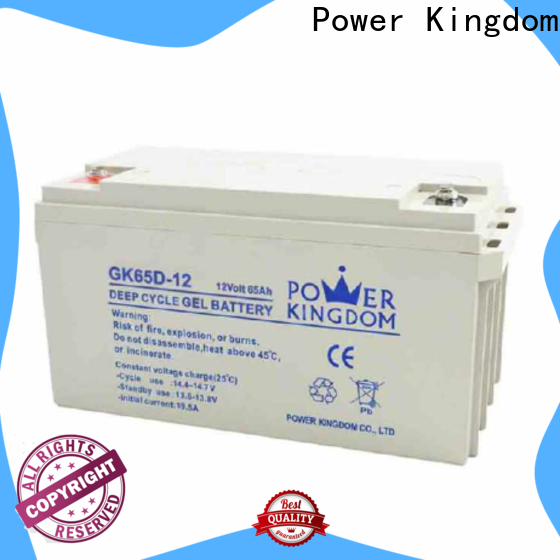 Power Kingdom sealed lead factory solor system