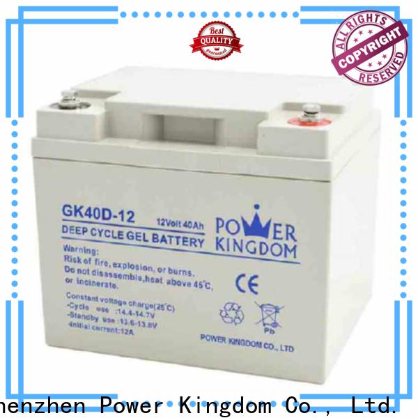Power Kingdom higher specific energy 6 volt sealed lead acid batteries Supply solor system