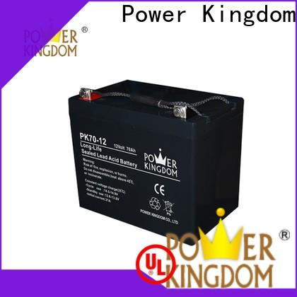 Power Kingdom 6v sealed lead acid battery design solor system