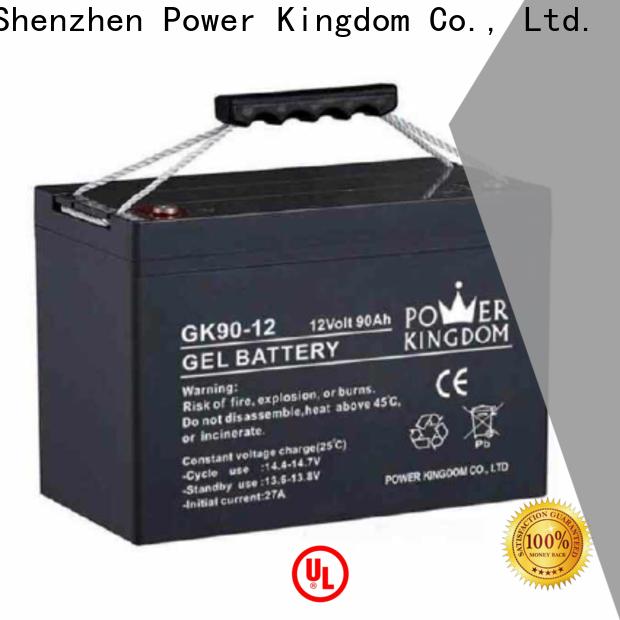 Power Kingdom sla charger design solor system
