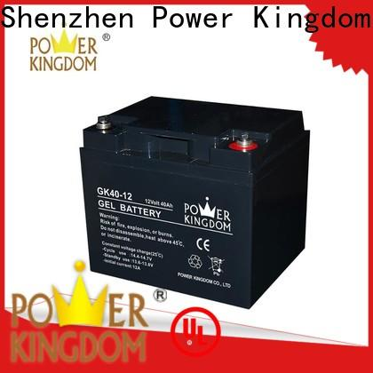 Power Kingdom lead acid battery low voltage for business wind power system