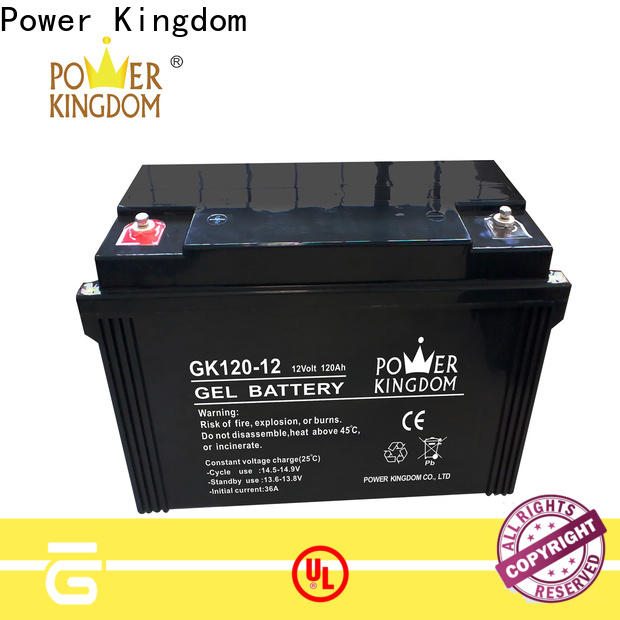 Power Kingdom maintenance free lead acid battery factory wind power system
