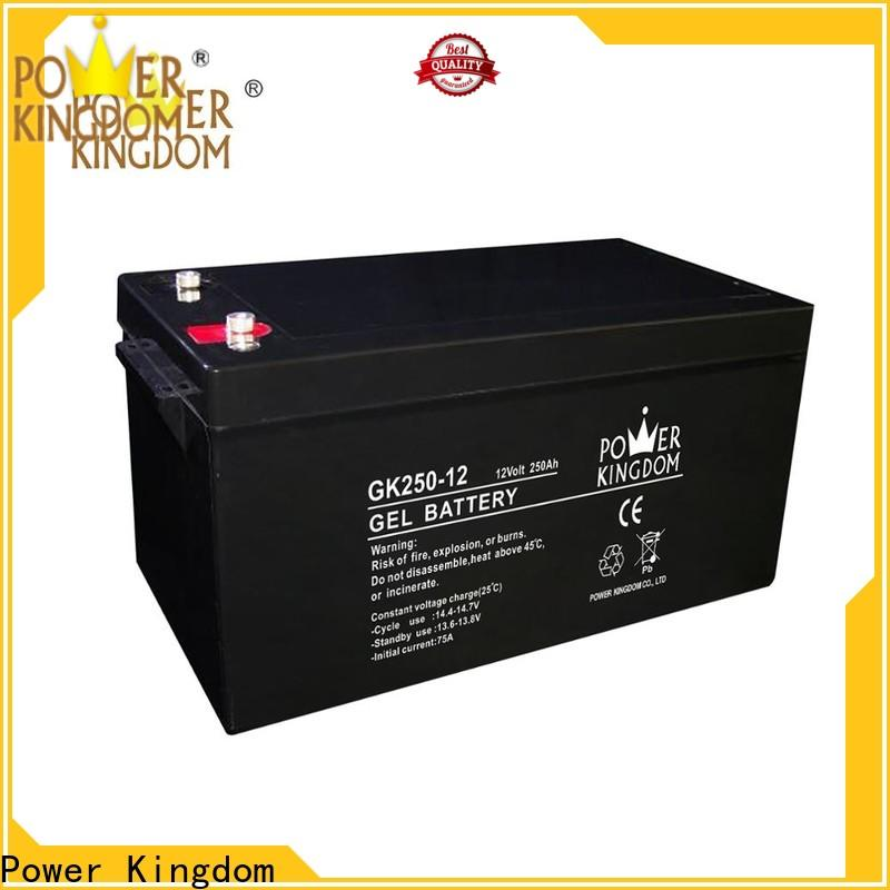 Power Kingdom duracell sealed lead acid battery with good price solor system