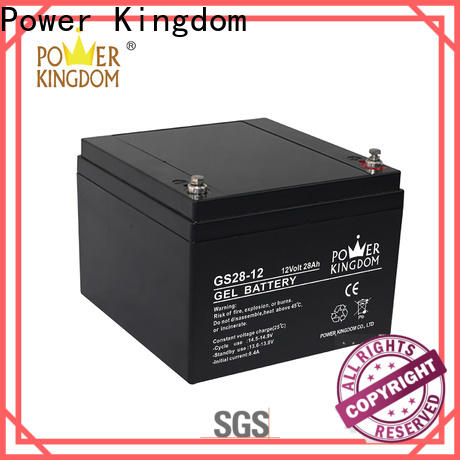 Power Kingdom Wholesale 12v battery discharge voltage for business wind power system