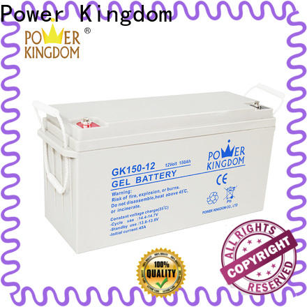 Power Kingdom Latest lead acid price manufacturers wind power system