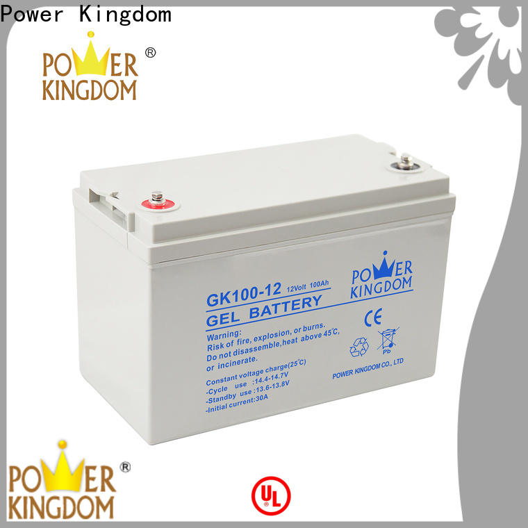 Power Kingdom Best 12v 2ah lead acid battery inquire now wind power system