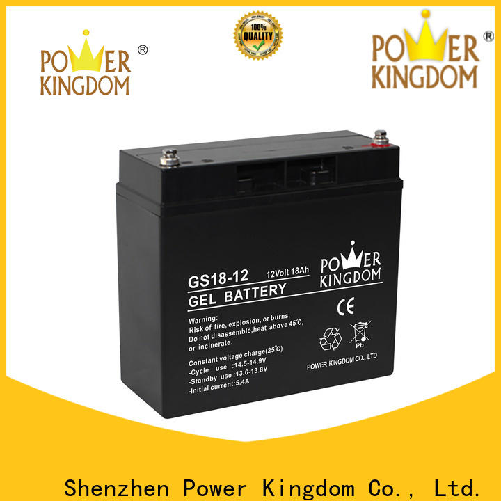Top lead acid battery holder design solor system