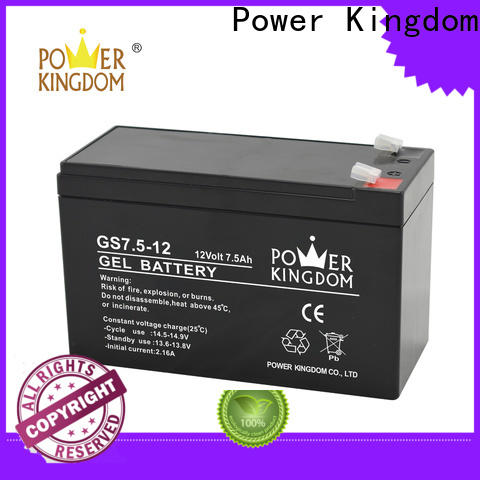 Power Kingdom vrla rechargeable battery factory medical equipment