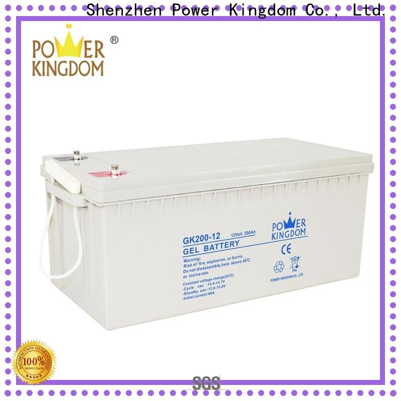 Power Kingdom lead acid battery sulfation Suppliers medical equipment
