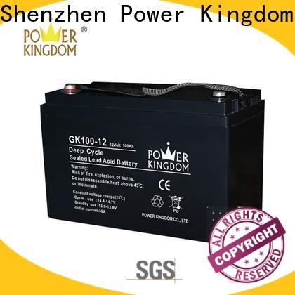 Power Kingdom sla battery suppliers factory solor system