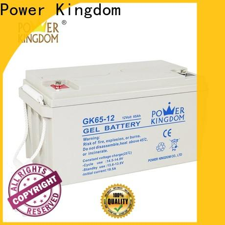 Power Kingdom Best lead battery 12v Suppliers solor system