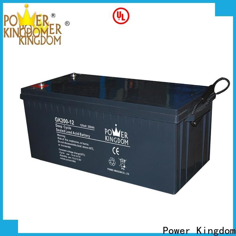 Power Kingdom battery plates design solor system