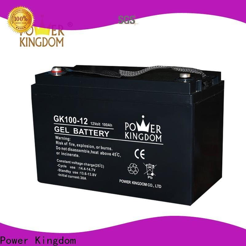 Power Kingdom sealed rechargeable lead acid battery 6v 4ah design medical equipment