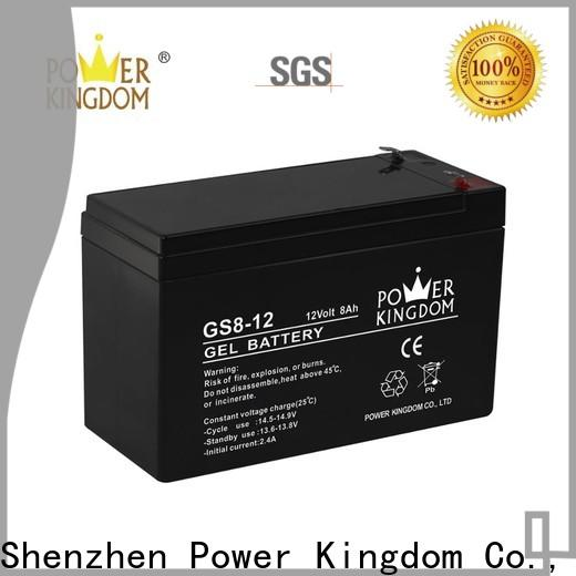 Power Kingdom sulphation in lead acid battery manufacturers medical equipment