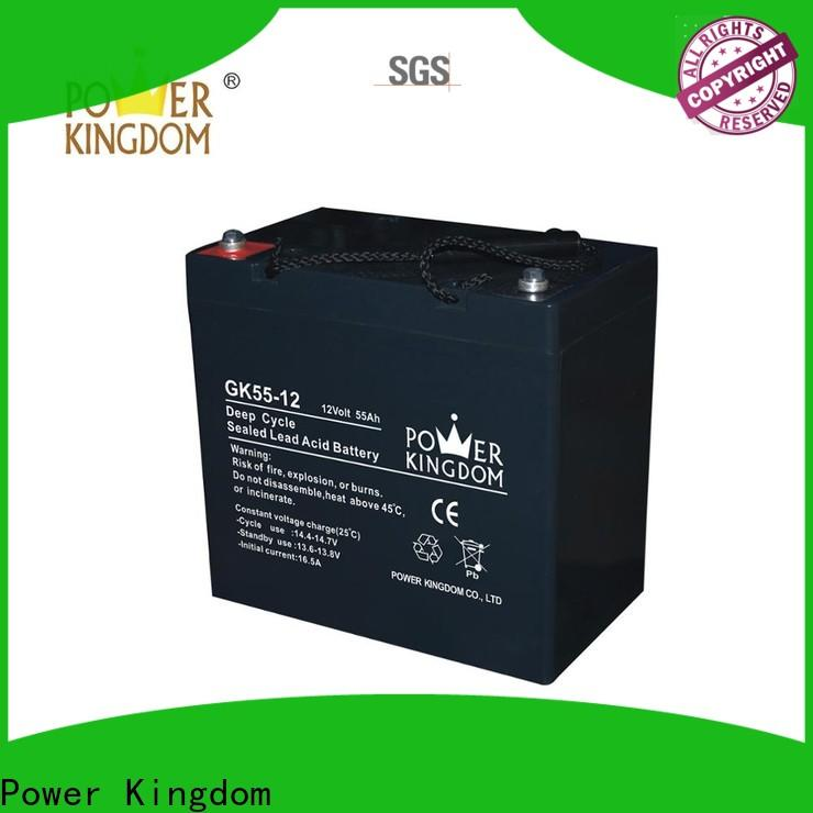 Power Kingdom Latest rechargeable sealed lead acid battery 6v 4ah for business medical equipment