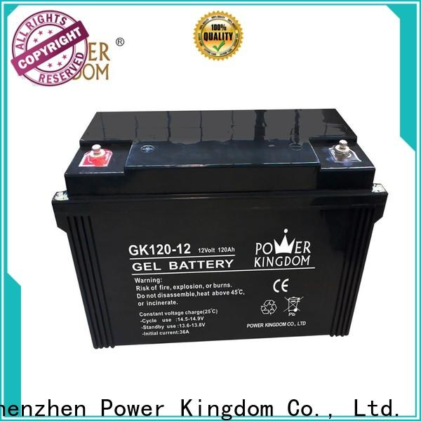 Power Kingdom rechargeable sealed lead acid battery 6v 4ah Supply medical equipment
