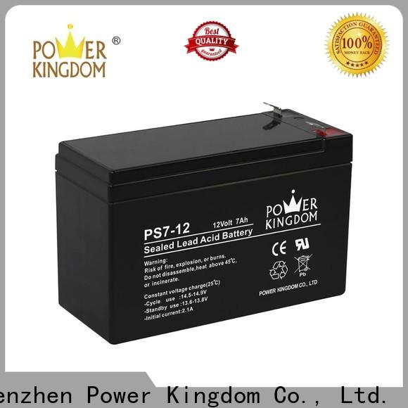 Power Kingdom High-quality cyclon sealed rechargeable battery Supply solor system