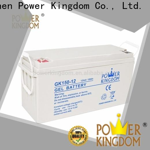 long standby life sealed rechargeable battery 12v 17ah factory solor system