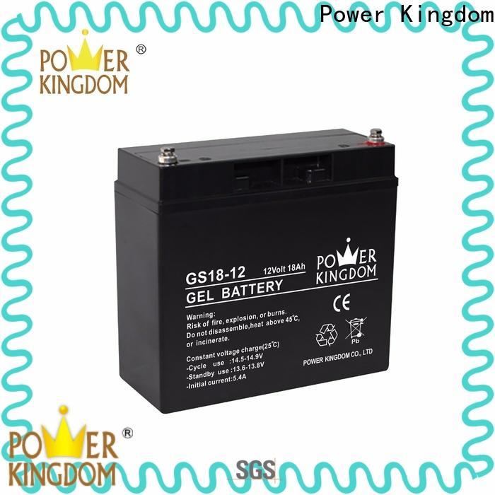 Power Kingdom Best maintenance free sealed lead acid battery manufacturers wind power system