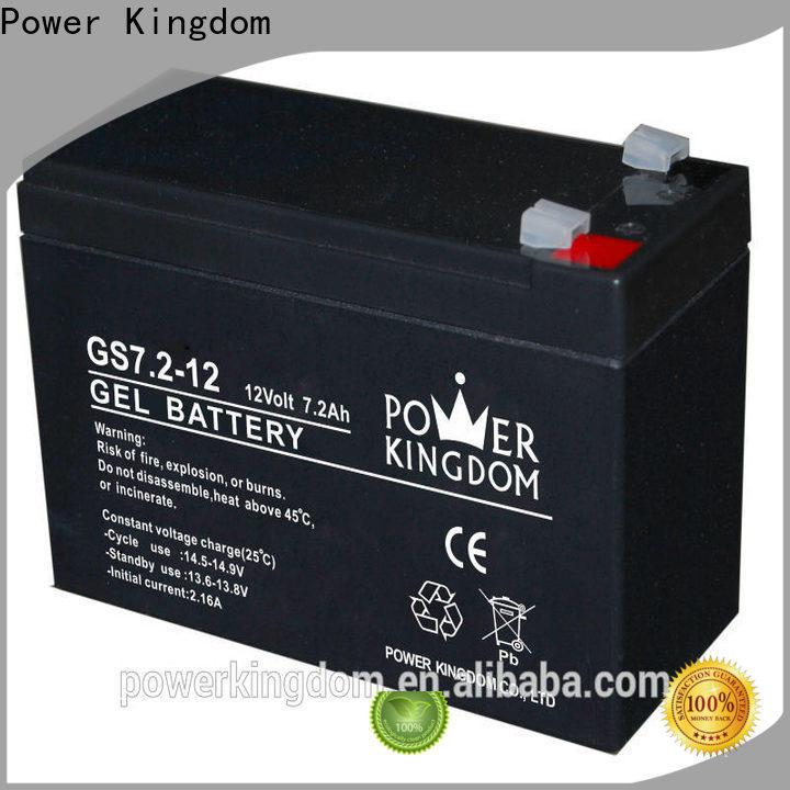 Power Kingdom buy lead acid battery company medical equipment