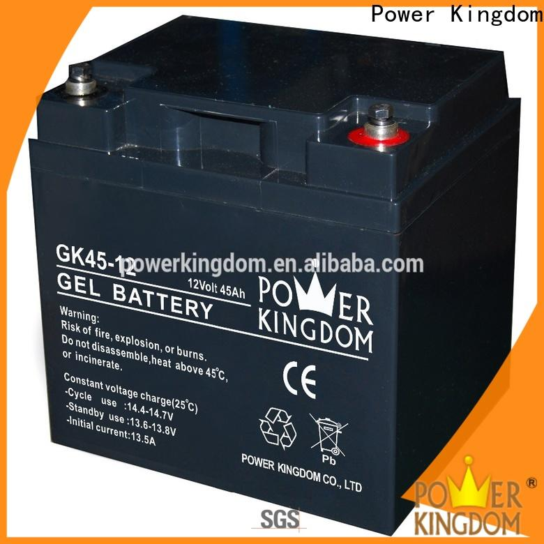 Power Kingdom charging sealed car batteries Supply solor system