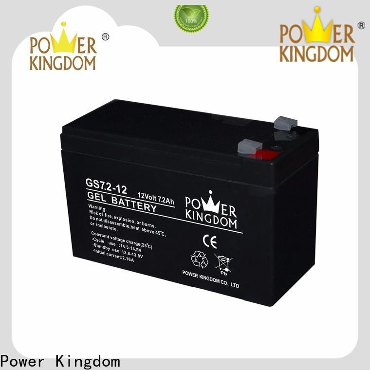 Power Kingdom lead acid batteries create design wind power system