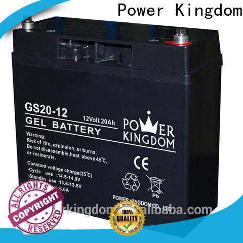 Power Kingdom Custom cheap lead acid batteries manufacturers wind power system