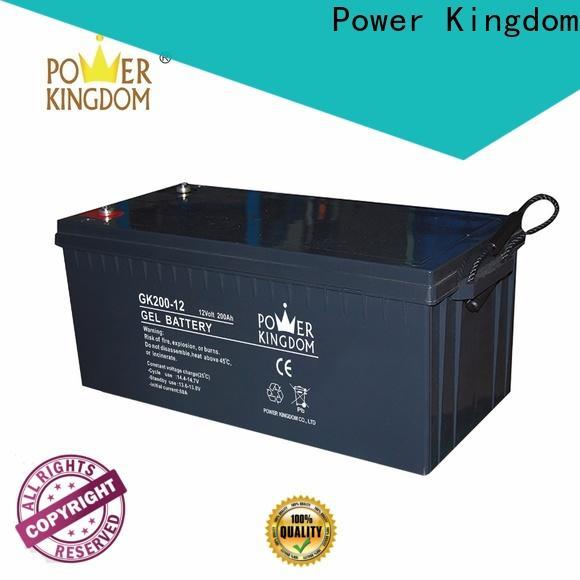 Power Kingdom 12v 24ah lead acid battery design solor system