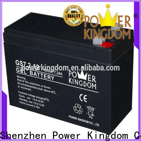 Power Kingdom high consistency sealed lead acid battery life expectancy with good price medical equipment