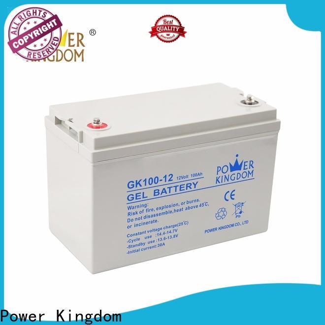 Power Kingdom Wholesale pb acid battery Supply solor system