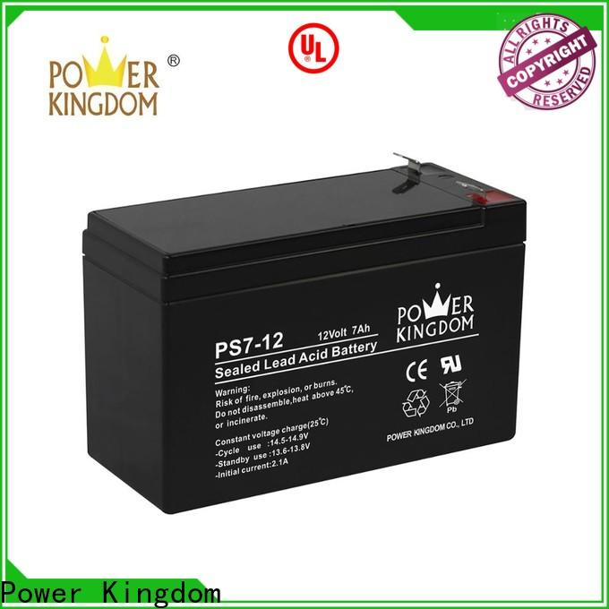 Power Kingdom 120ah agm battery manufacturers deep discharge device