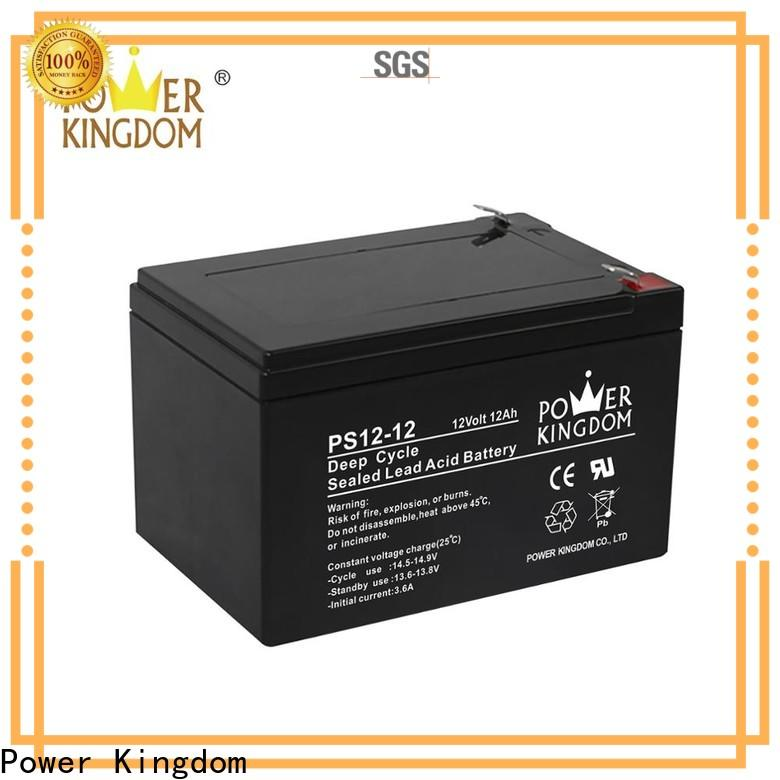 Power Kingdom Top 12v lithium ion battery deep cycle personalized deep discharge device