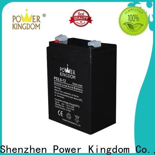 Power Kingdom poles design 12 volt deep cell marine battery supplier vehile and power storage system